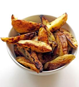 Lemon and Thyme Potato Wedges