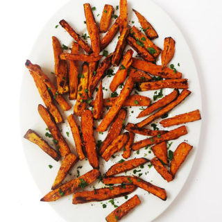 Mediterranean Spiced Sweet Potato Fries
