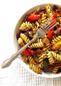 Mediterranean Tuna and Roast Pepper Fusilli