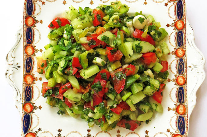 Turkish Shepherd's Salad