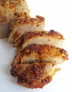 Honey-Roast Garlic Pork
